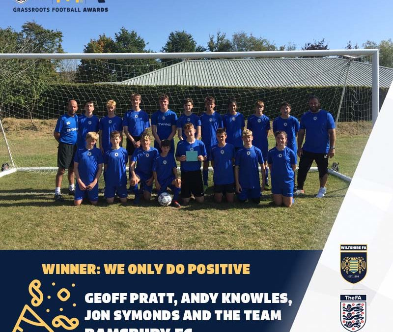 Ramsbury FC wins two awards from Wiltshire FA!