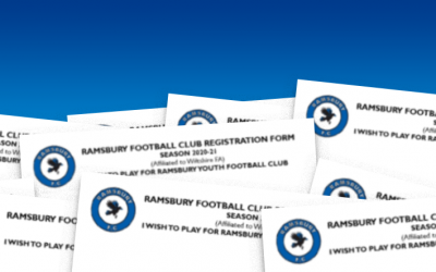 Ramsbury FC Registration Form for 2020-2021 Season