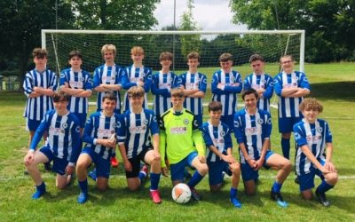 Ramsbury FC U16s win 7-1 against Abbeymeads FC Purple U16s
